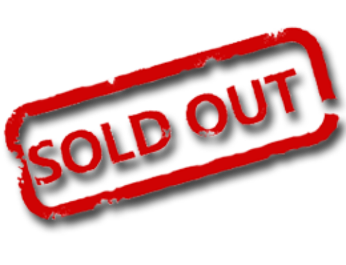 Sold out – but extra tickets now available!