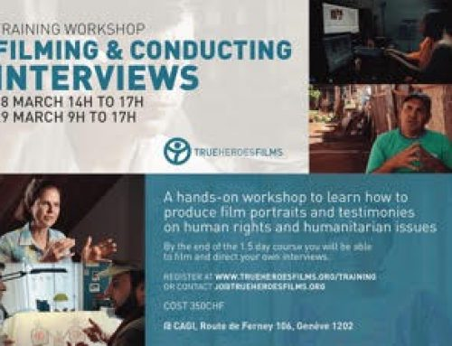 Training workshop: Filming & Conducting Interviews