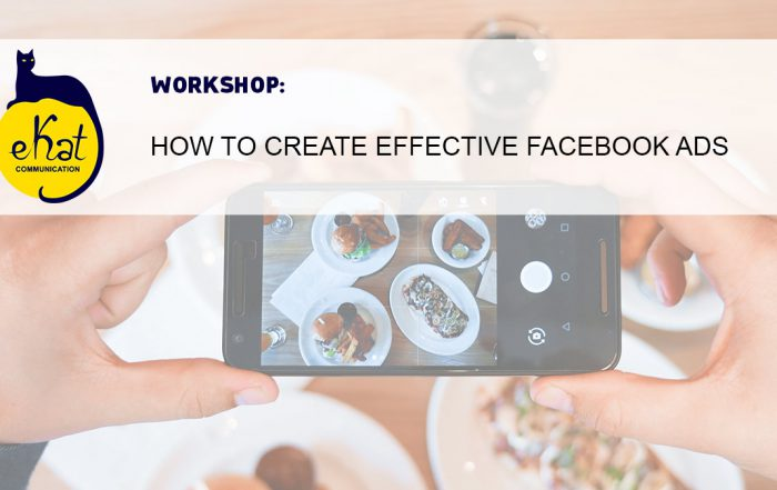 Effective Facebook Ads workshop by Ekaterina Filippova (eKat Communication)
