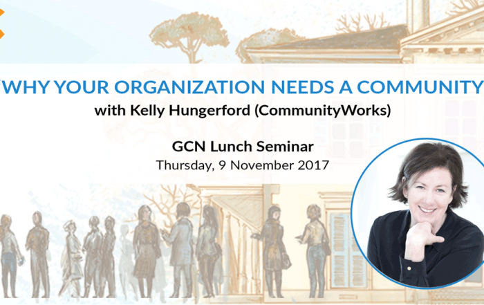 GCN lunch seminar with Kelly Hungerford 9 November 2017