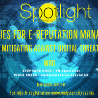 Event: Strategies for e-reputation management, 25 April 2019 Geneva